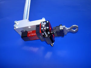 Pic of precision robot technology assembly